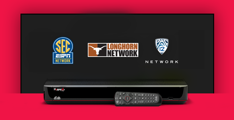 DISH College Sports TV Packages - Redding, California - B&T Satellite - DISH Authorized Retailer