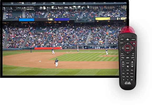 Watch Sports with the DISH Voice Remote - Redding, California - B&T Satellite - DISH Authorized Retailer